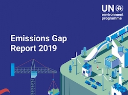 United Nations Emissions Gap Report Cover Page