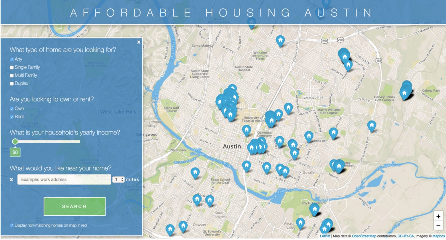Affordable Housing Data Portal
