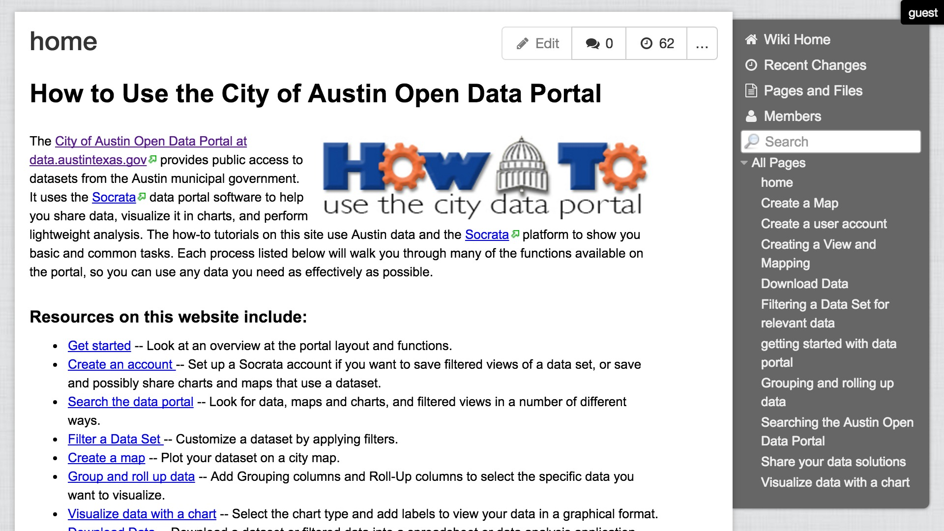 How to Use the City of Austin Open Data Portal